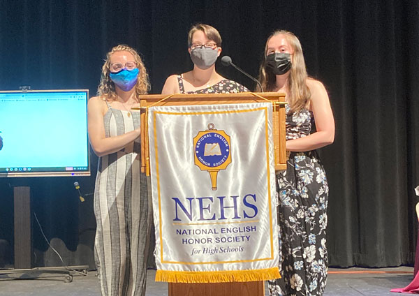 Chelmsford High School National English Honor Society Induction 2021